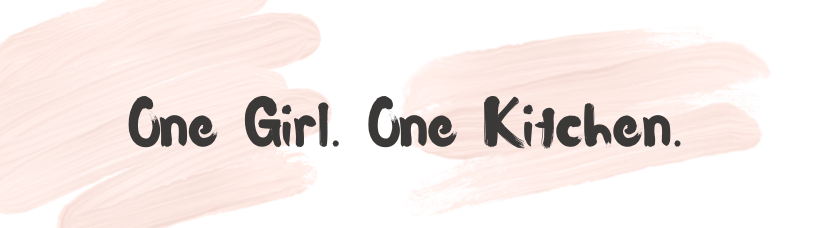 One Girl. One Kitchen. logo